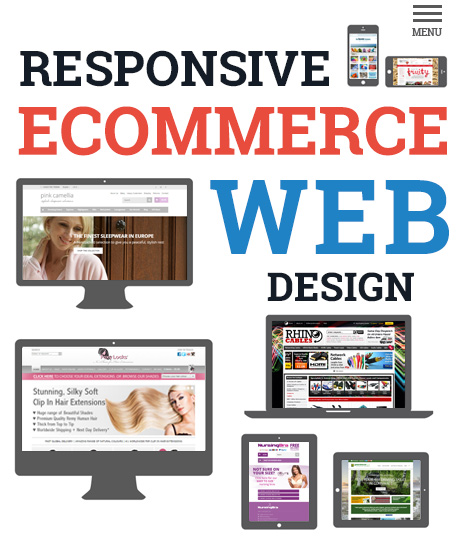 responsive ecommerce website design by Futurestore