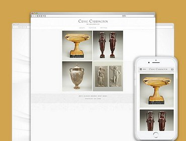 Antiques and Fine Art ecommerce website